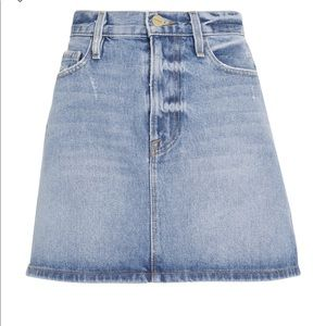 Frame Le Mini majorelle Denim Skirt NWT